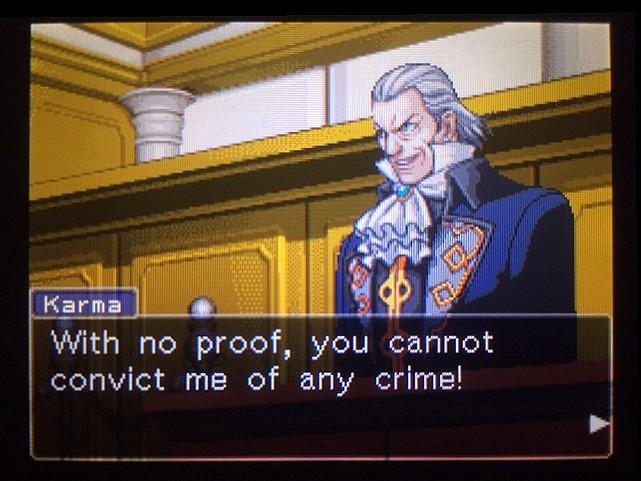 逆転裁判 北米版 銃弾の証明4
