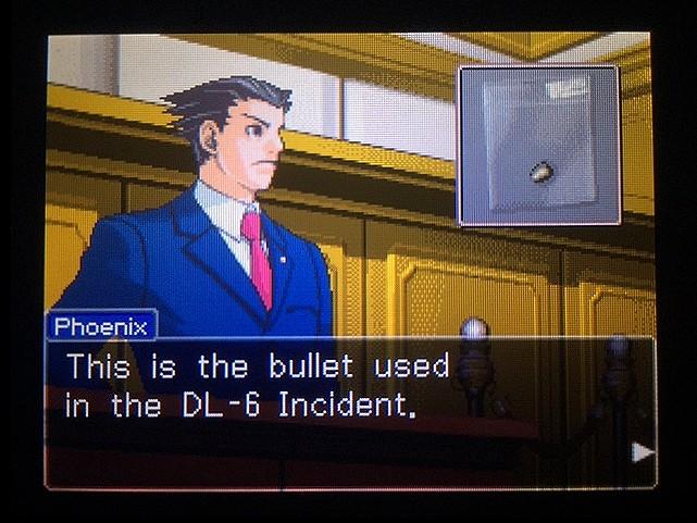 逆転裁判 北米版 銃弾の証明17