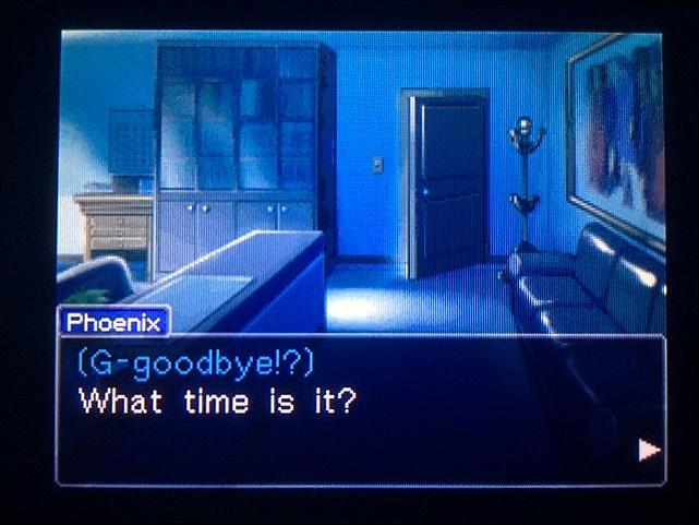 逆転裁判 北米版 Goodbye12