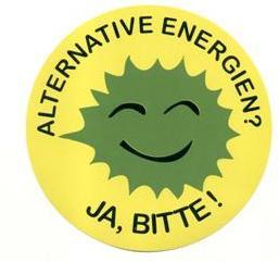 Alternative Energien Ja, Bitte! (Klein)