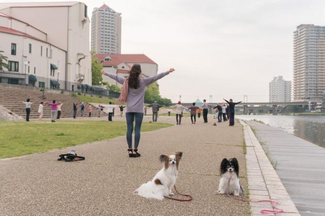 LEVINくんの朝散歩に突撃!-001