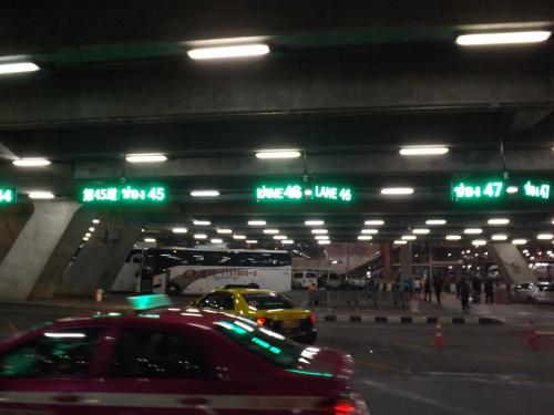 パブリックタクシー電光掲示板