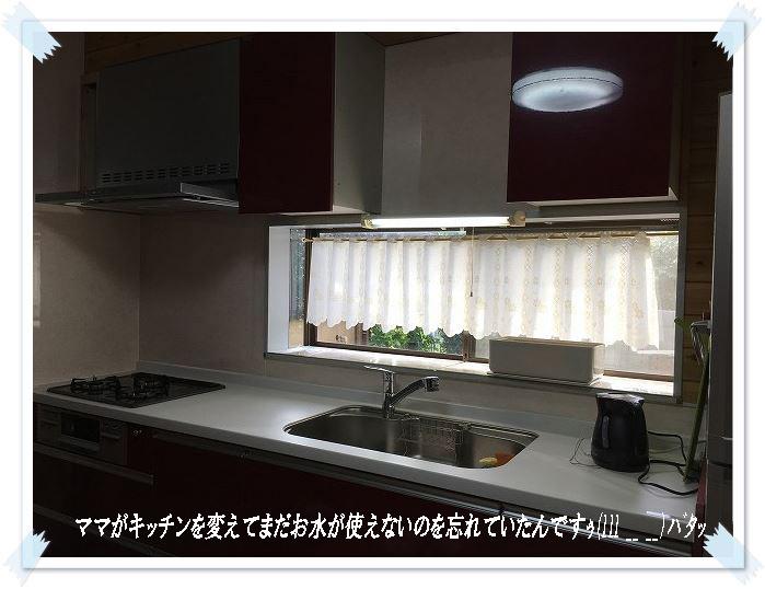 キッチンが使えない