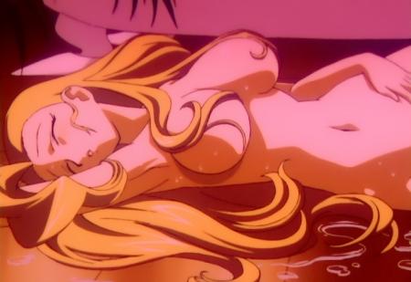 勇者王ガオガイガーFINAL スワン・ホワイトの全裸オナニーシーン25