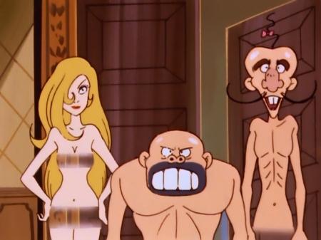 タイムボカン マージョの全裸ヌード43