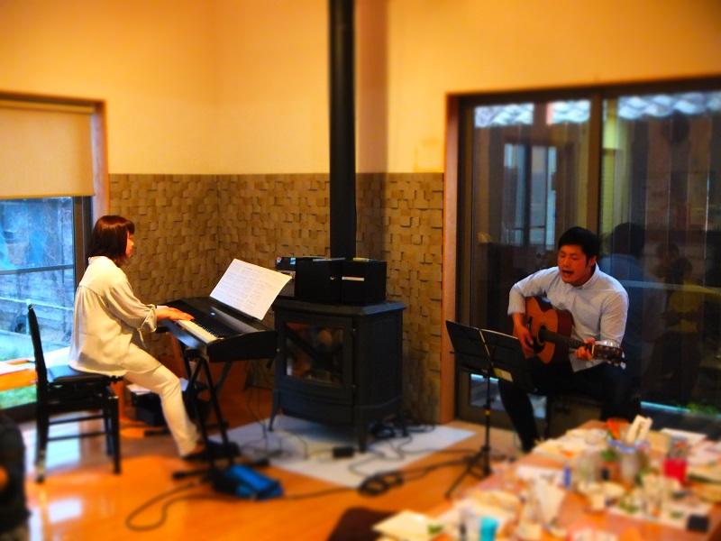 2016 スプリングパーティー ピアノ&ギター セッション (2).