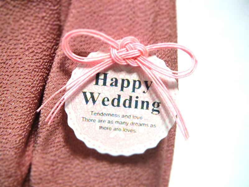 結婚 ピンク 水引リボン 2
