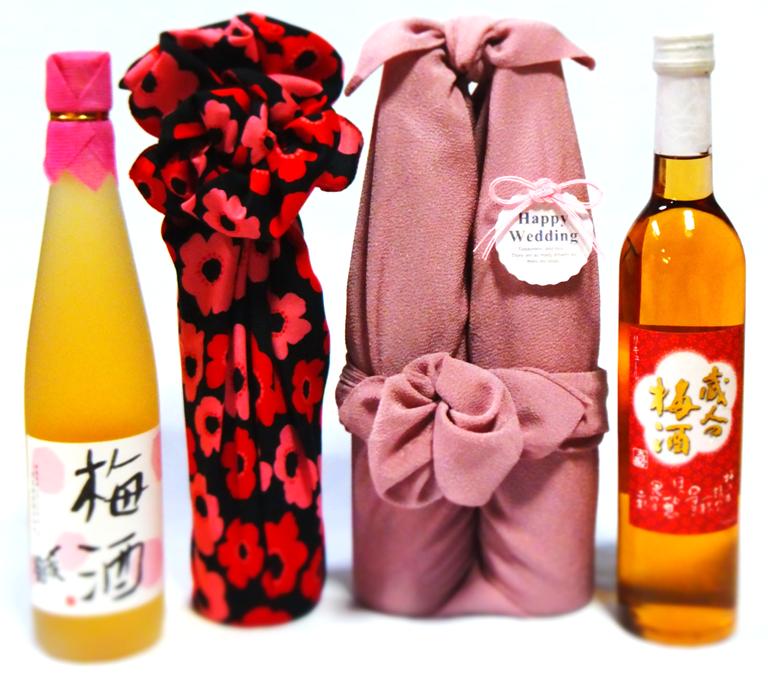 風呂敷ラッピング 〆梅酒 大洋梅酒