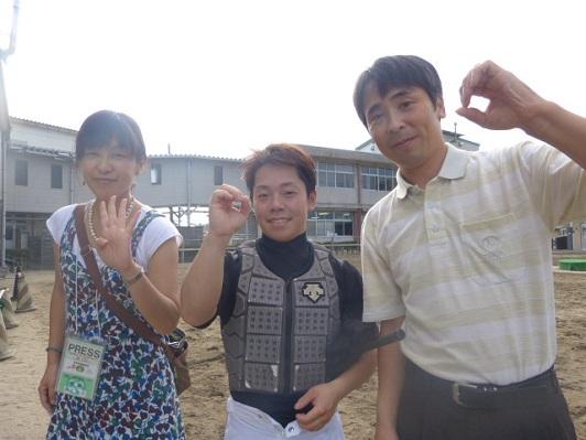 02畠山信一調教師400勝!
