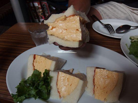 コロナ玉子サンド
