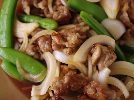 春野菜と揚げ焼き豚の甘酢漬け04