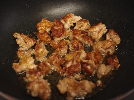 春野菜と揚げ焼き豚の甘酢漬け03