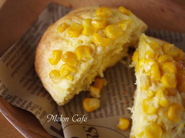 ホットケーキミックスで作るコーンマヨバターのおかずパン00