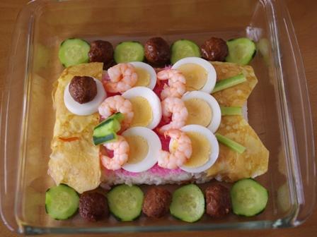 こどもの日のこいのぼりちらし寿司04