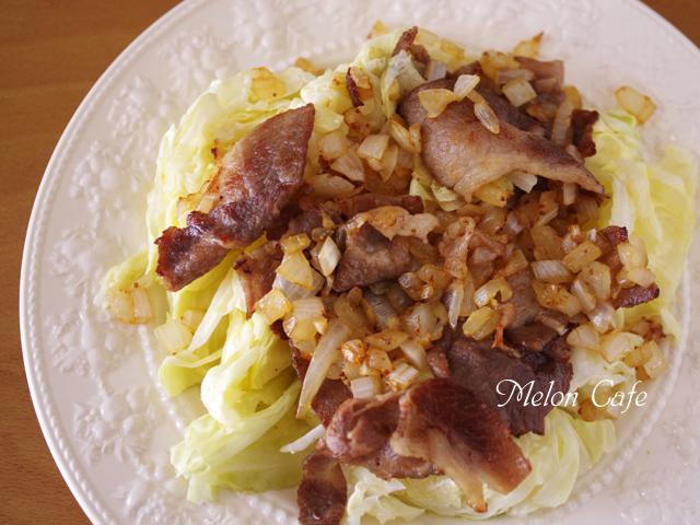 キャベツと豚肉のあったかサラダ05