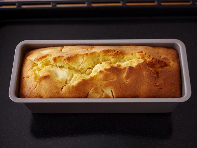 りんごのパウンドケーキ01