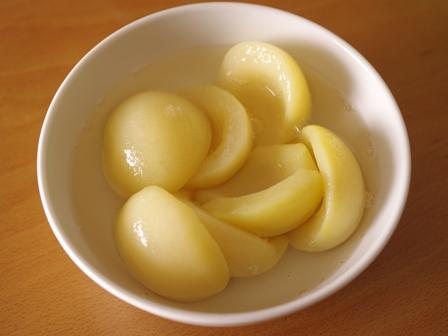 簡単手軽におもてなしスイーツ2種の桃とりんごのゼリー01