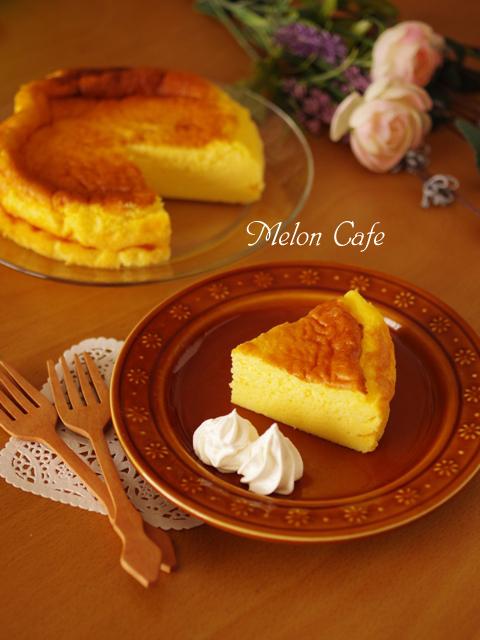ホットケーキミックスで簡単スフレチーズケーキ