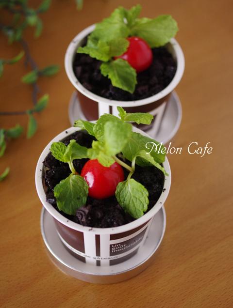 植木鉢ケーキ簡単ティラミス