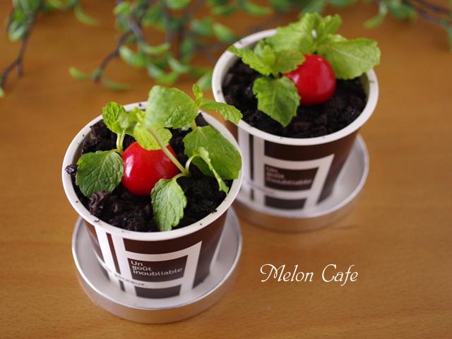 植木鉢ケーキ簡単ティラミス10