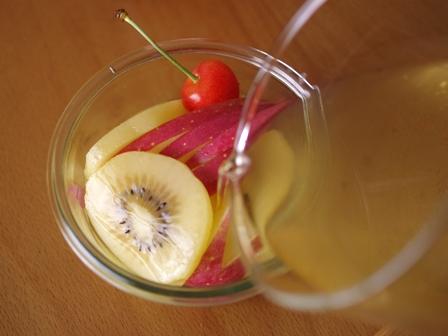 りんご酢はちみつりんごフルーツビネガーウォーター04