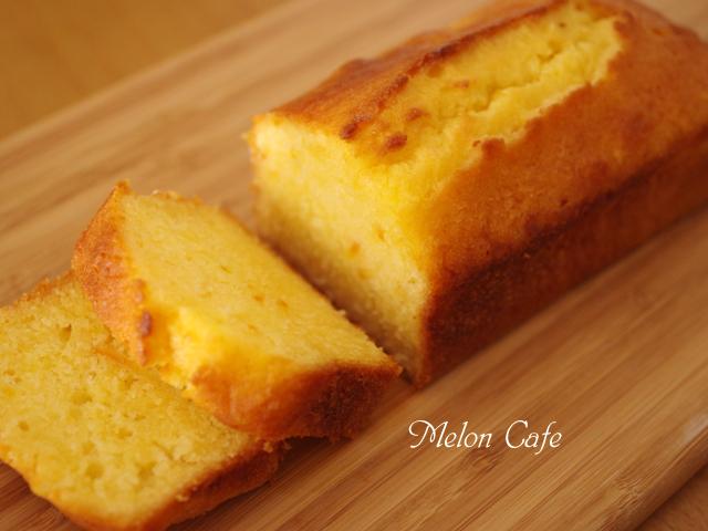 簡単パウンド生地でしっとりオレンジケーキ00