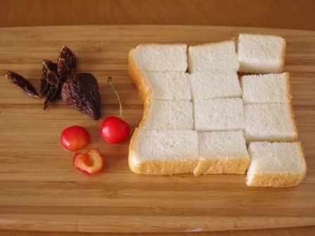 食パンでつくるスキレットのクイーンズプディング01