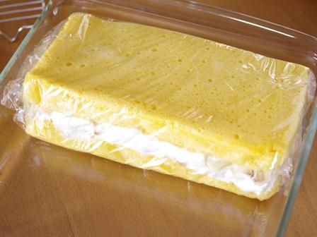 ホットケーキミックスで作るレンジで簡単バナナケーキ06