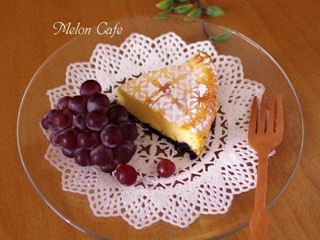 ホットケーキミックスと牛乳で簡単チーズケーキ00