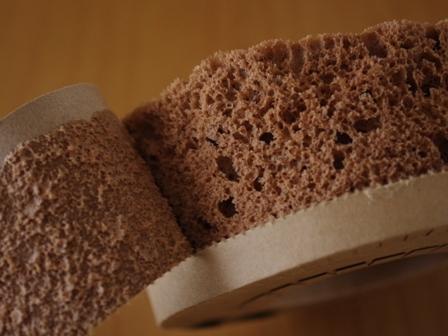 レンジで簡単ホットケーキミックスのココアシフォンケーキチョコチップ入り04