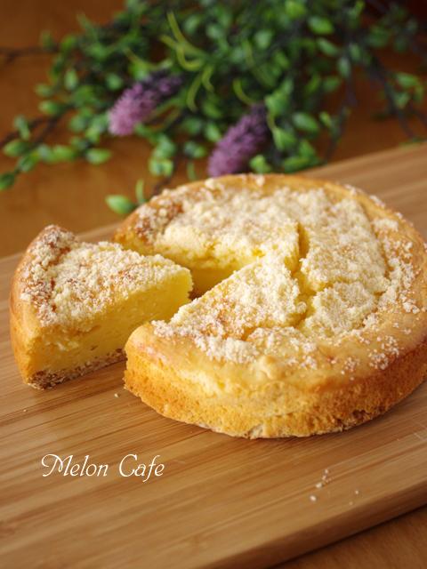 ホットケーキミックスで簡単本格ベイクドチーズケーキ