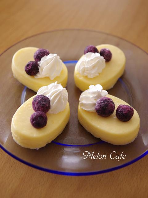ホットケーキミックスで簡単ちいさなチーズケーキ