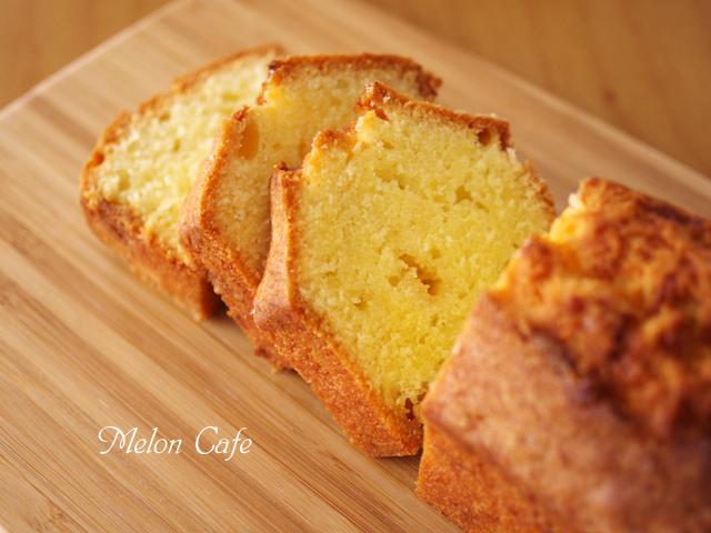 香ばし簡単ホワイトチョコ入りパウンドケーキ