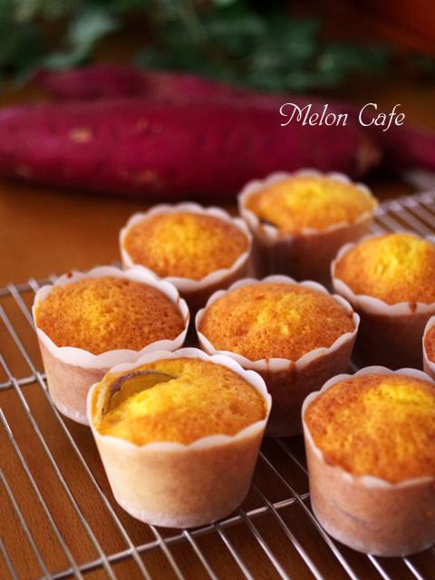 ホットケーキミックスで超簡単スイートポテトカップケーキ