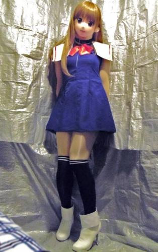 青ドレスア08