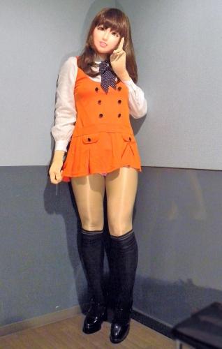 オレンジワンピ8