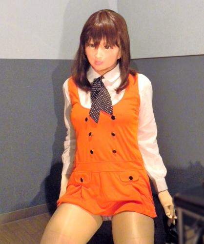 オレンジワンピ9
