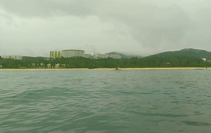 海上からかりゆしホテル