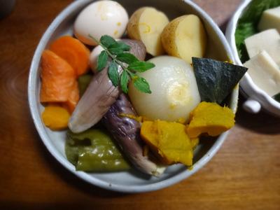野菜の煮びたし