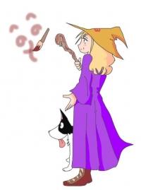 okokkeitarouさんの魔女babaとヴィッキー