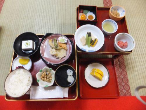赤松院ー3精進料理