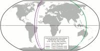 世界を2分する図