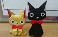 ネコの折り紙