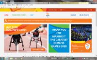 パラリンピックのサイト