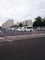 真砂コミュニティセンターの駐車場