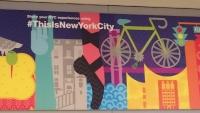 ニューヨークの看板