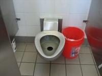 米国のトイレ