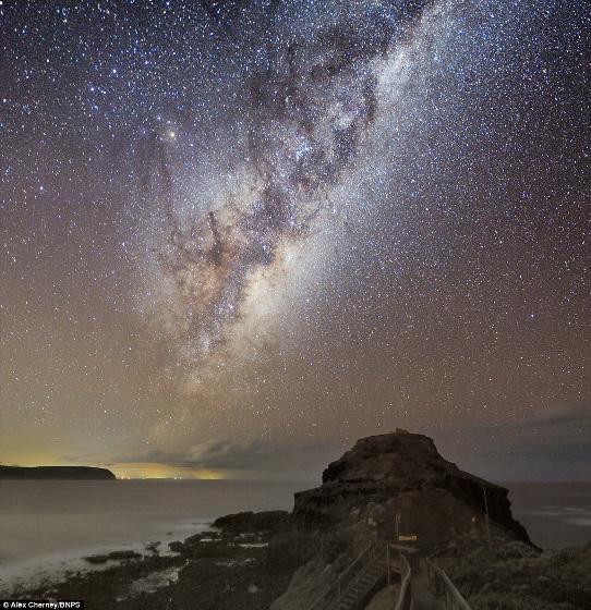 天の川 オーストラリア