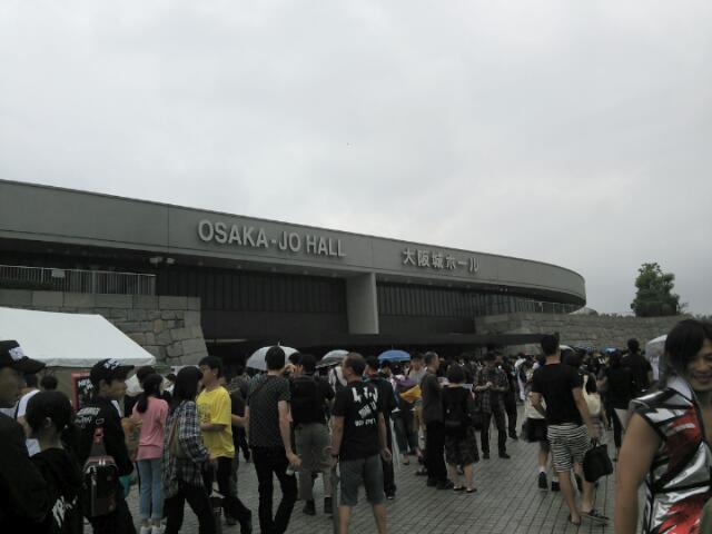 写真①大阪城ホール