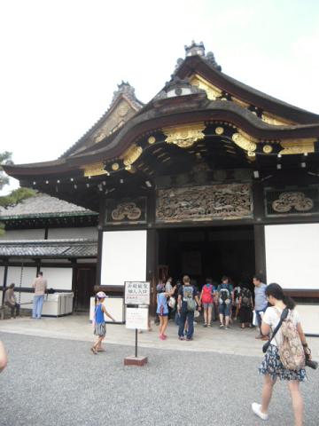 D  二の丸御殿の入り口